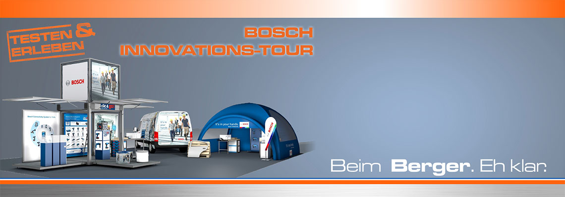Bosch-Innovationstour