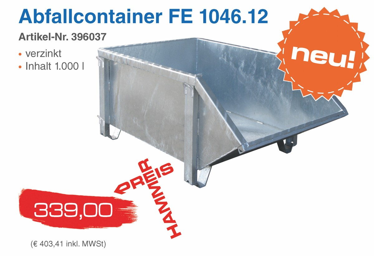 Abfallcontainer