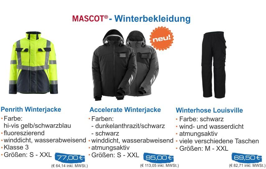 Mascot Winterbekleidung