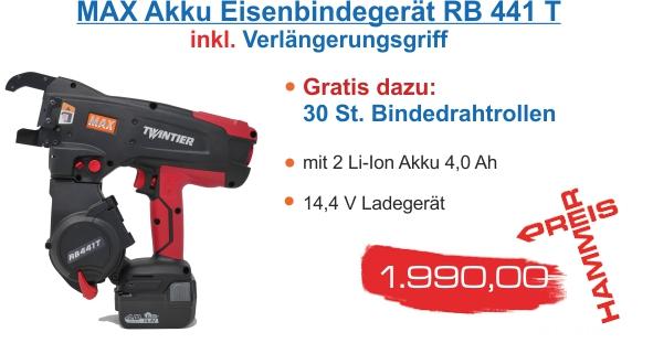 Max Bindegeraet RB 441 T