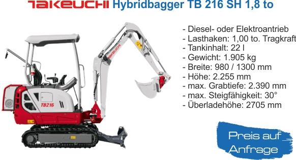 Miete TB216SH Hybrid