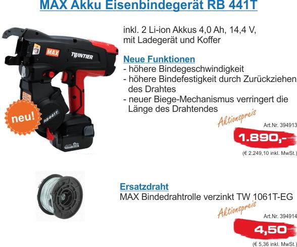 NL Max Bindegerät