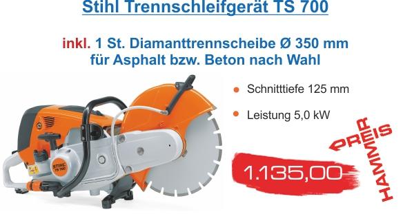 Stihl Trennschleifer TS 700