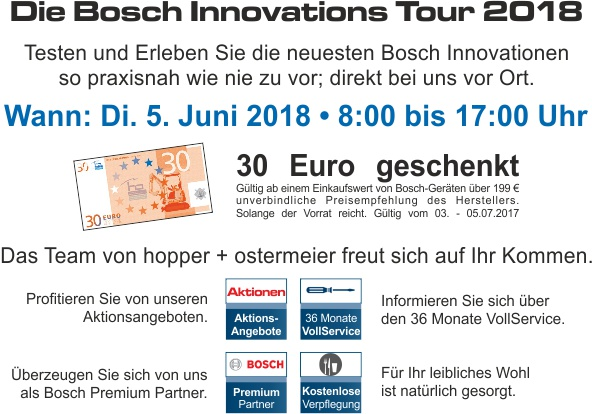 Bosch Innovationstour NL ho 2018