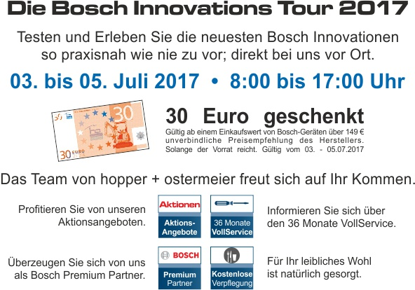 Bosch Innovationstour NL