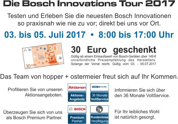 Bosch Innovationstour NL