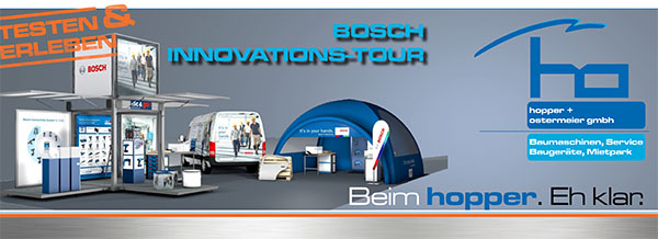 Bosch Innovations Tour