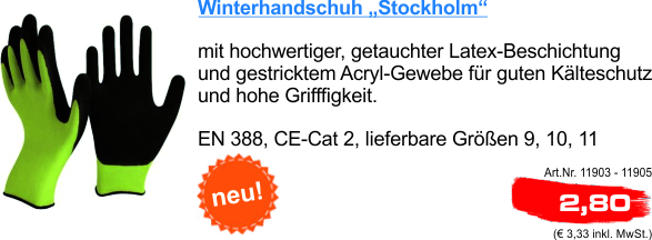 NL5 Handschuh