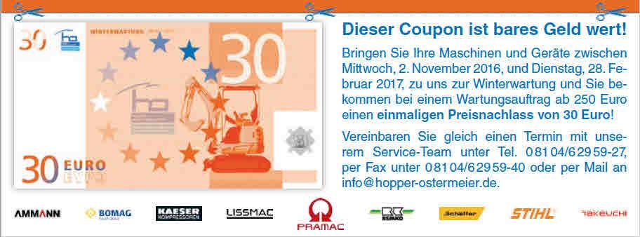 30 Euro Gutschein ho